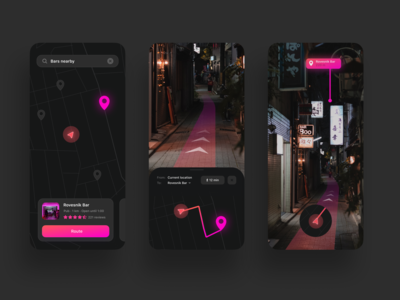 AR Route App