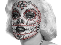 Marilyn Muerta T-shirt Design