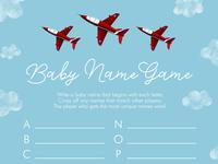 Baby Name Game