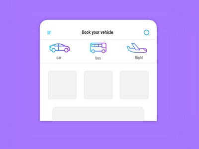 Header Navigation Design