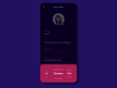 Date Picker Design