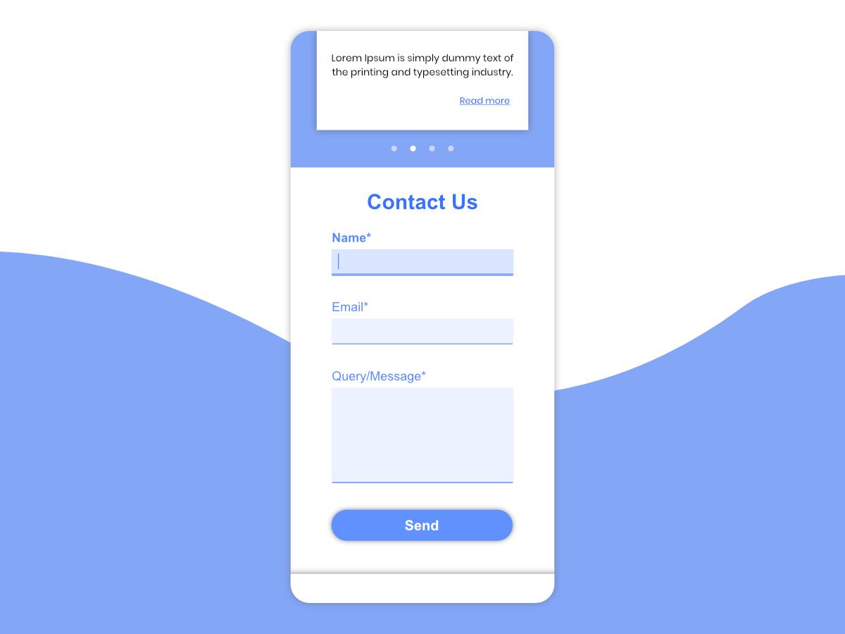 Form Design webdesign dribbble dribbblers contact page contact form contact us contact form field form design form ui design uidesign ui  ux ui dailyuichallenge dailyui082 dailyui