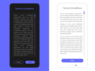 Terms of Service Design
