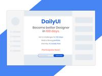 DailyUI Landing Page