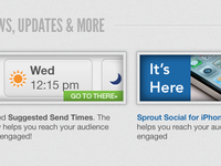 Sprout Social 2 Updates
