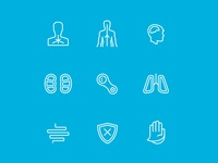Health Risk Icons