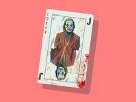 The Joker playing card