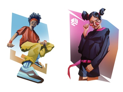 Apparel Illustrations illustration illustrations illustrator illustration art digitalart digital illustration digital painting procreate procreateapp vector art digitalartist branding vector artworks digital 2d design