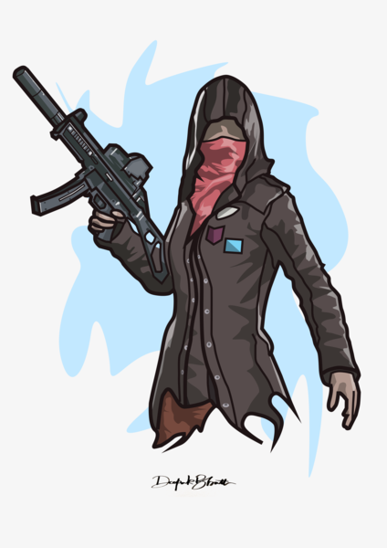 Pubg Vector Illustration By Db Creations On Dribbble
