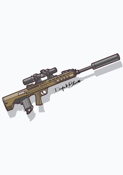 Pubg Qbu rifle by DB creations on Dribbble