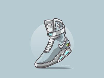 Nike airmag drawing digitalart logo vector artworks vector digital 2d vector artwork vector art illustration design