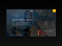 Alita movie UI concept