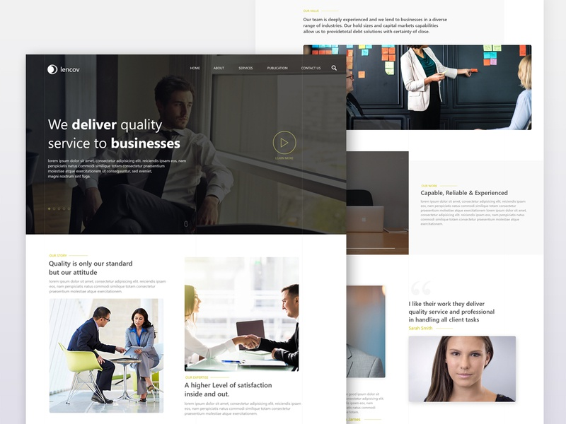 Consulting firm page homepage busines webdesign webinterface desiginspiration uiux design web ux ui