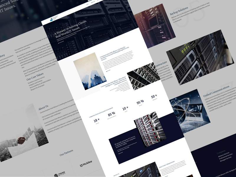 IT firm landing page ux web design webinterface landing page homepage desiginspiration uiux design ui webdesign