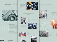Mechanical Supplies Landing Page