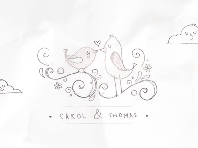 Wedding Logo - Sketch