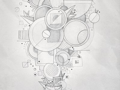 Sketch for a T-shirt design