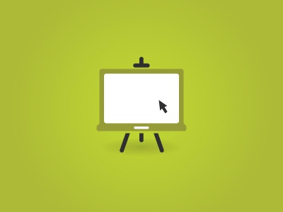 Proposal for a Logo logo canvas laptop green