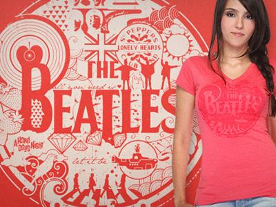 Beatles - T-shirt design