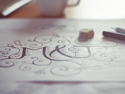 Sketch for a logo