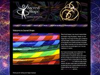 Sacred Shape web site