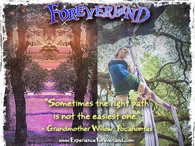 Foreverland Dual Reality campaign festival social media event design