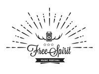Logo Creative For FreeSpirit Music Festival Theme