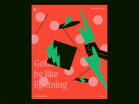 Music Posters - Like Lightning