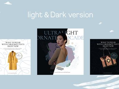 Light & Dark version
