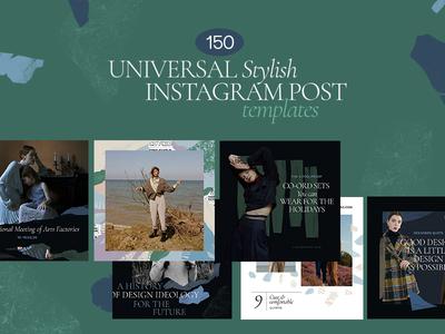 150 universal templates