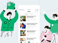 """Asapasa""  IOS App Design - Illustrations"