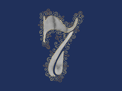 7 - 36 Days of Type lettering letterform feminine design 36daysoftype watercolor typography art typography design vector illustration