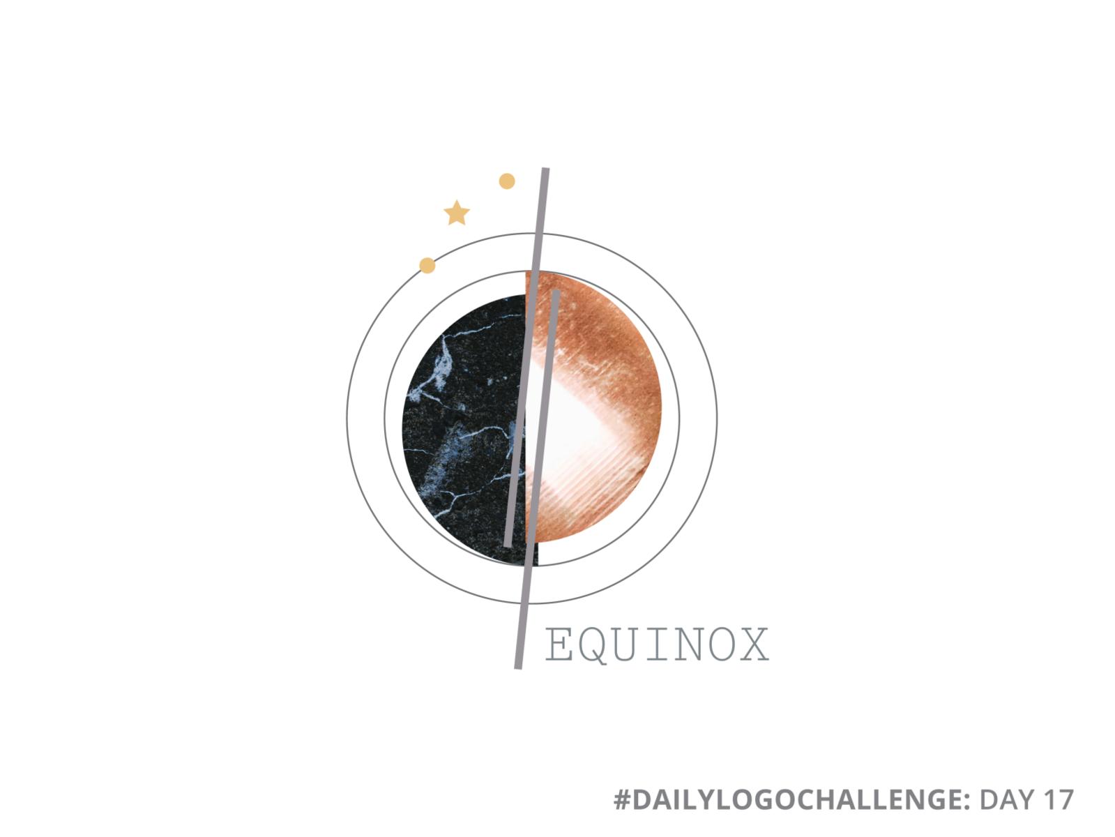 Equinox   Geometric Logo by Laura Parisi on Dribbble