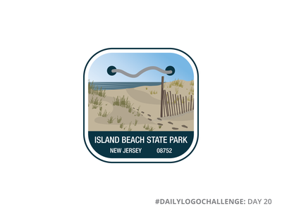 Island Beach State Park | National Park Logo