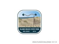 Island Beach State Park | National Park Logo