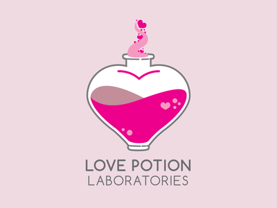 Love Potion Laboratories | Logo Design