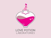 Love Potion Laboratories | Logo Design