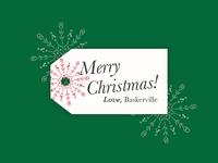 Merry Christmas | Love, Baskerville