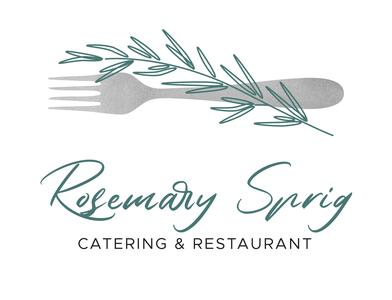 Rosemary Sprig | Catering Logo
