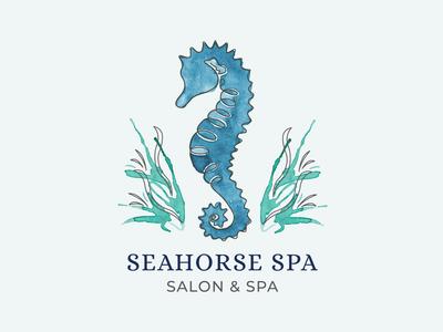 Seahorse Spa   Salon & Spa Logo
