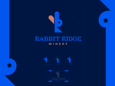 RABBIT 2021 logo business illustrator logotype logodesign logotype black white creative graphic design brandmark minimal logo branding