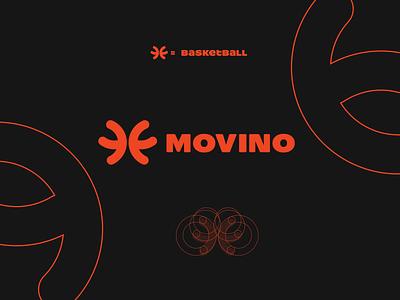 Movino logo design typography business logodesign logo maker graphic design brandmark minimal logo branding