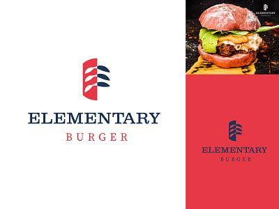 BURGER LOGO design logo graphic design logo maker logodesign logotype illustration brandmark minimal branding