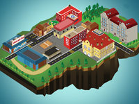 Isometric map 1