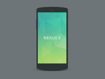 Nexus 5 Mockup 1 nexus 5 mockup psd
