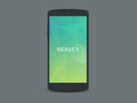 Nexus 5 Mockup 1