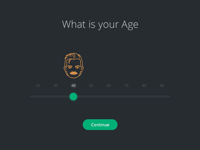 Interactive Form form input age