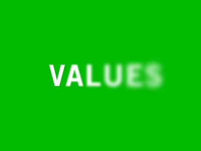 Fading Values