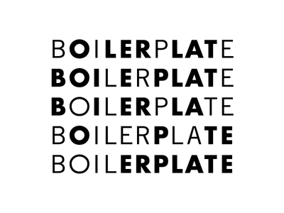 Boilerplate trade gothic dynamic futura