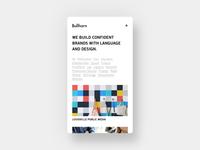 New Bullhorn Website (Mobile)